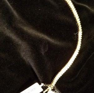 Granni Argento NWT  14 K gold plated diamond brace